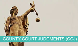 CCJ - County Court Judgements
